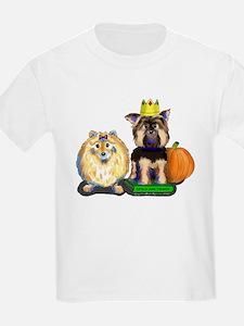 Pomeranian and Yorkie T-Shirt