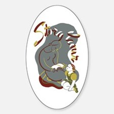 Story Hour Oval Decal