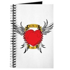 Jesus Heart Tattoo Journal