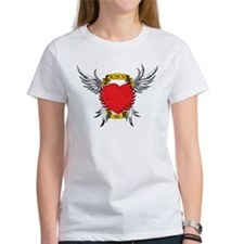 Jesus Heart Tattoo Tee