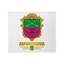 """""""Zaporizhzhia"""" Throw Blanket"""