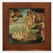 Botticelli The Birth Of Venus Framed Tile