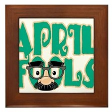 April Fool's Day Framed Tile