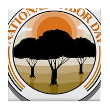 National Arbor Day Tile Coaster