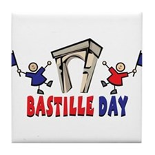 Bastille Day Tile Coaster