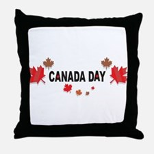 Canada Day Throw Pillow