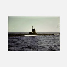 USS AMBERJACK Rectangle Magnet