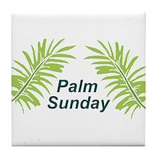 Palm Sunday Tile Coaster