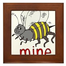 Be Mine Framed Tile