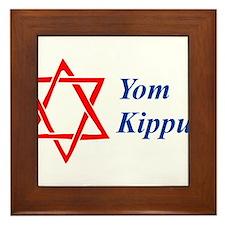 Yom Kippur Framed Tile