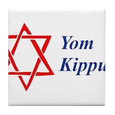 Yom Kippur Tile Coaster