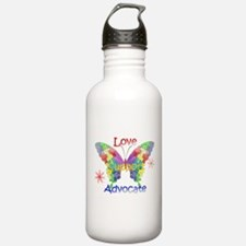 Autism Awareness Butterfly Water Bottle