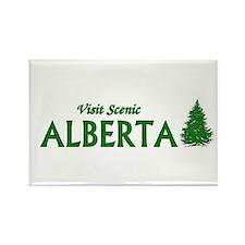 Unique Calgary travel Rectangle Magnet