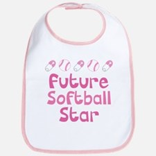 Future Softball Star Bib