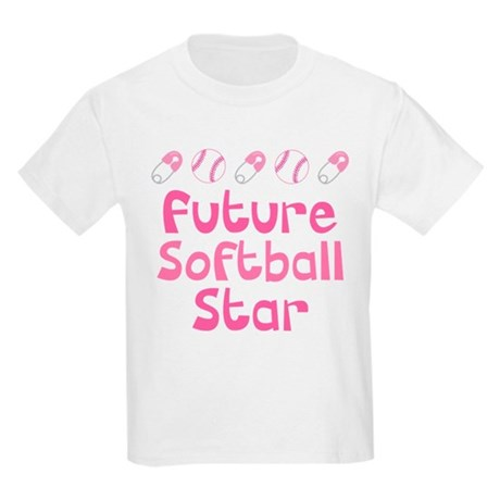 Future Softball Star Kids Light T-Shirt