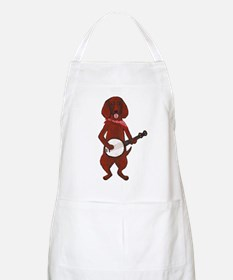 Banjo Bloodhound dog Apron