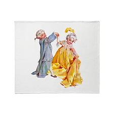 Lafayette's Minuet Throw Blanket