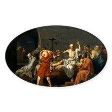 The Death Of Socrates Decal
