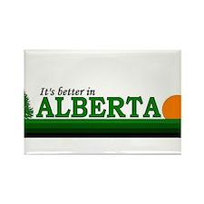Funny Calgary travel Rectangle Magnet