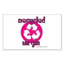 Recycled Virgin (Girls') Rectangle Decal