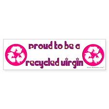 Recycled Virgin (Girls') Bumper Bumper Sticker