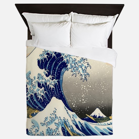 The Great Wave Queen Duvet