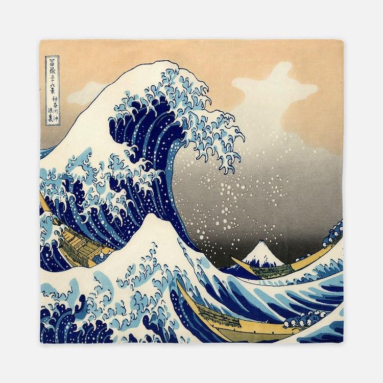 The Great Wave Queen Duvet