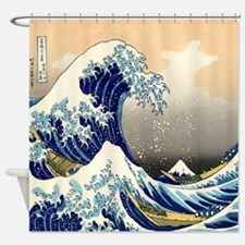 The Great Wave Shower Curtain