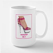 Worship Me (foot) Mug