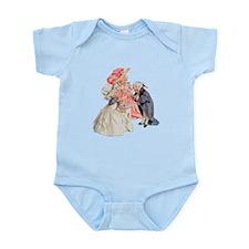 Martha Washington's Tea Party Infant Bodysuit