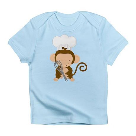 Baby Chef Monkey Infant T-Shirt