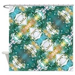 Aura Forest Shower Curtain