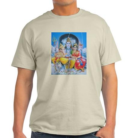 shiva_parvati_ganesha T-Shirt