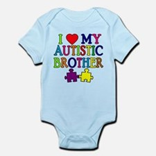 I Love My Autistic Brother Infant Bodysuit