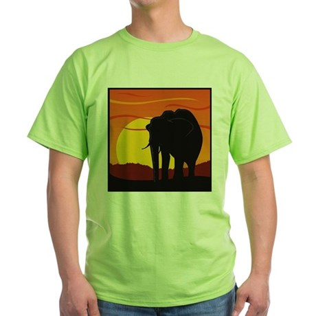 Elephant Green T-Shirt