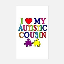 I Love My Autistic Cousin Decal