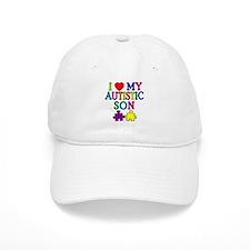 I Love My Autistic Son Tshirts Baseball Cap