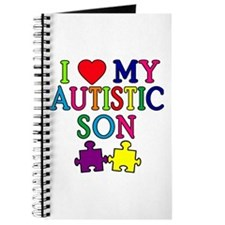 I Love My Autistic Son Tshirts Journal