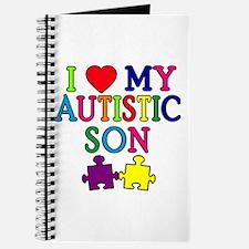 I Love My Autistic Son Tshirts Journal