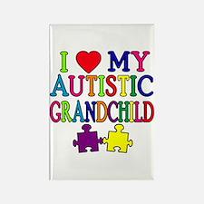 I Love My Autistic Grandchild Tshirts Rectangle Ma