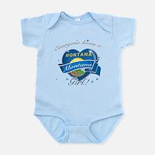 Montana girl Infant Bodysuit