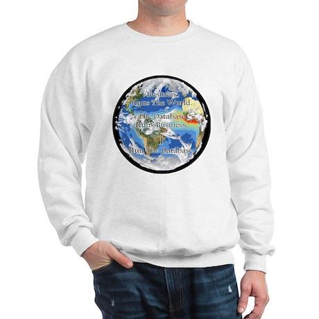 """I Run The Database"" Sweatshirt"