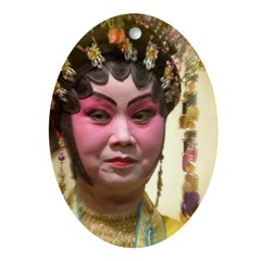 Chinese Opera Dancer Ornament (Oval)