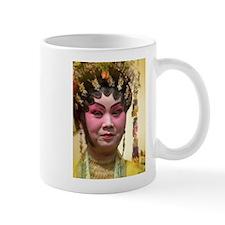 Chinese Opera Dancer Mug