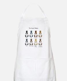 Dutch Rabbit Colors BBQ Apron