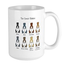 Dutch Rabbit Colors Mug