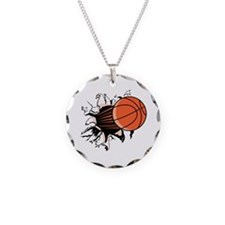 Cute Basketball Necklace