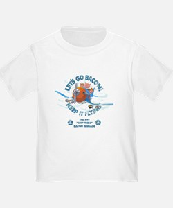 When pigs fly - Bacon brigade T