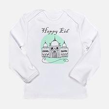 happy eid Long Sleeve T-Shirt