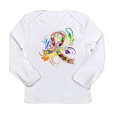 Autism Awareness Believe Long Sleeve Infant T-Shir